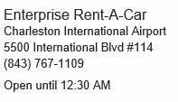 Charleston IAP Enterprise Car Rental