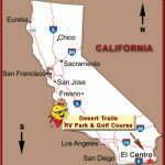 El Centro on map