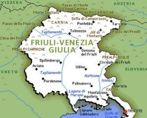 Friuli-Venezia Giulia region