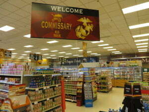 Inside Commissary