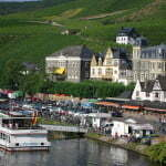 Boat cruises on the Mosel River are available throughout October.