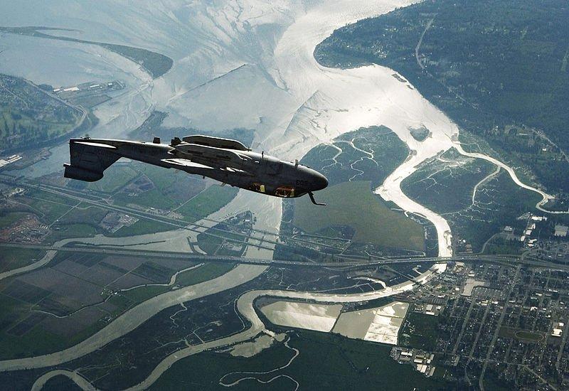 EA-6B Prowler inverted attack maneuver