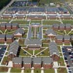 Fort Bragg - 1st Brigade barracks