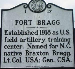 Fort Bragg established