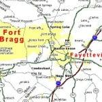Fort Bragg location
