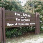 Ft. Bragg gate
