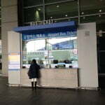 Incheon ticket counter outside exit 8