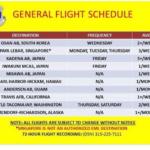 Yokota general flight schedule