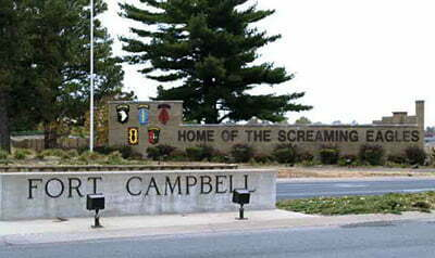 Ft. Campbell Home of the Screaming Eagles