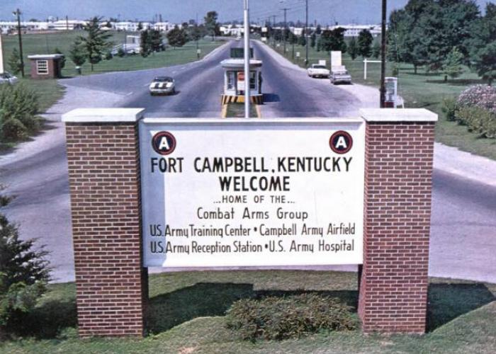 Ft. Campbell gate