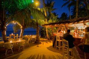 09 Mar 2007, Las Terrenas, Dominican Republic --- Syroz Bar on the Beach --- Image by © Atlantide Phototravel/Corbis