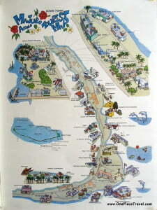 Marshall Islands tourist map