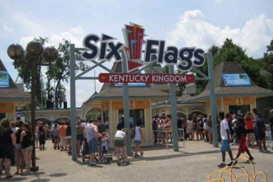 Six Flags - Kentucky Kingdom